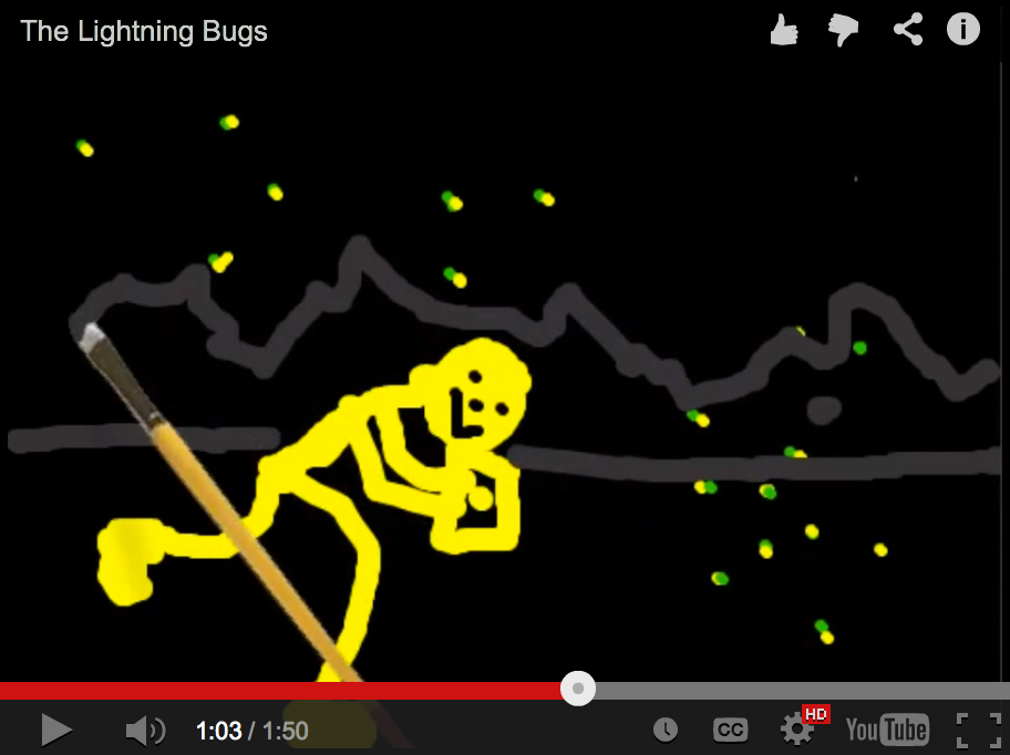 "Image from ""Lightning Bugs"" by Larry Hewett; Making Learning Connected 2014"